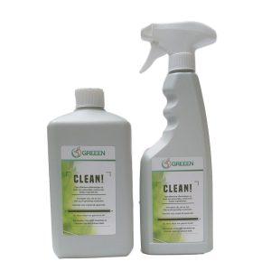 GREEEN CLEAN! Paket Biologisch Abbaubare Putzmittel