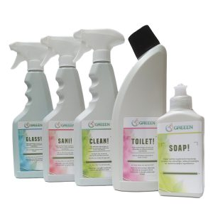 Biologische Reinigungsmitteln Paket GREEEN TOTAL!